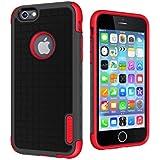 Cygnett Workmate Evolution Case for Apple 4.7 inch iPhone 6 - Black/Red