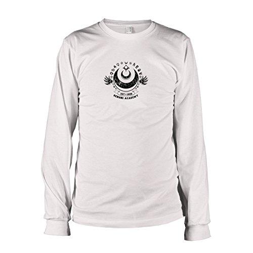 emy - Langarm T-Shirt, Herren, Größe S, weiß (Sailor Moon Super S Kostüm)