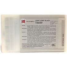 Ink Master - Cartucho compatible EPSON T6039 LIGHT LIGHT BLACK T6039 para Epson Stylus Pro 7800 7880 9800 9880
