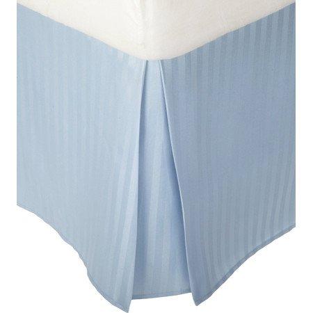 British Wahl Leinen Ägyptische Baumwolle 300-thread-count Satin., Light Blue Stripe, UK Caesar