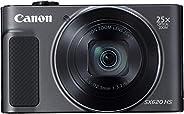 كانون كاميرا رقمية باور شوت SX620 HS - 20.2 ميجابيكسل، اسود