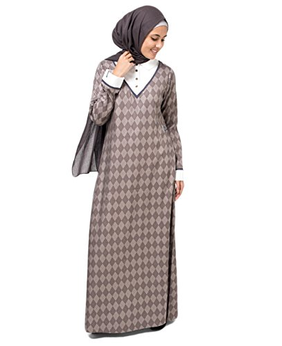 Polo Button Abaya Extra Slim 56