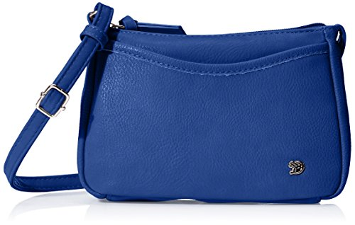 TOM TAILOR Denim Damen Cilia Umhängetasche, Blau (Blau), 4x14x21.5 cm (Designer Cross Body Bag)