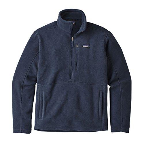 Herren Fleecepullover Patagonia Classic Synch Marsupial Fleece Pullover NAVY BLUE