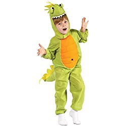 P 'tit payaso re92374–Disfraz Baby dinosaurio 104cm, 2/3años