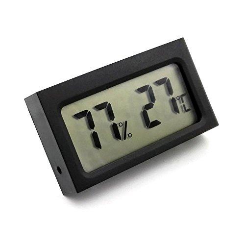 Kobwa Mini Digital Hygrometer Thermometer, LCD Grad Celsius (C) Display -