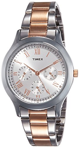 Timex Analog Silver Dial Women's Watch - TW000Q807 1