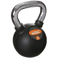 LiveUP Sports - Kettlebell 16kg Hierro Goma Pesos Manija Cromo Fitness Crossfit Training