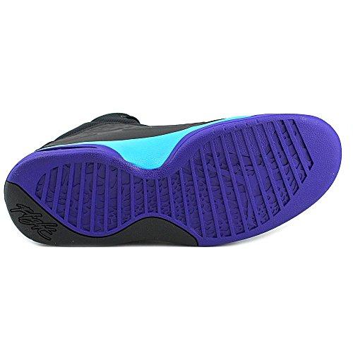 Nike Jordan New School Schuhe Sneaker Sport, Herren Schwarz / Blau / Dunkelviolett (Schwarz/Blue Lagoon-Brght Cncrd)