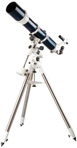 Celestron Omni XLT 120 - Telescopio refractor, negro y plateado
