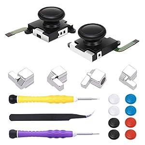 Ersatzriegel für Nintendo Switch Joy-Con, Schloss Schnallen Reparatur Werkzeug Kit für Switch Joy-Cons mit…