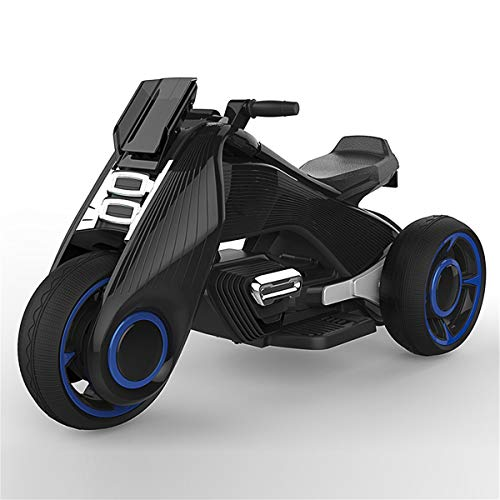 WFHhsxfh Motocicletas eléctricas for niños Coches eléctricos Hombres y Mujeres Triciclos for bebés...
