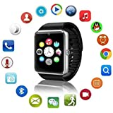 LG Wine Smart (2015) GT08 Smart Watch With Camera || Smart Watch With Memory Card|| Smart Watch With Sim Card Support ||fitness Tracker|| Bluetooth Smart Watch||Wrist Watch Phone|| Smart Watch With Facebook. Whatsapp|| 4G Smart Watch||Any Color ||Best In