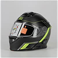 Origine Helmets - Casco abatible con Bluetooth integrado Delta Motion Matt, 204271729100103, Lima,