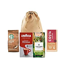 Ground Coffee Gift Box Roasted Ground Coffee Pack Perfect for All Coffee Lovers