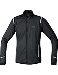 GORE RUNNING WEAR- Homme- Veste de course chaude et respirante- GORE WINDSTOPPER Soft Shell- MYTHOS 2.0 WS SO- JWSMYM