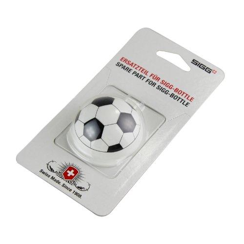 Sigg Verschluss KBT Dust Cap Football, Weiß/Schwarz, 8142.5 (Cap Outdoor-basis)