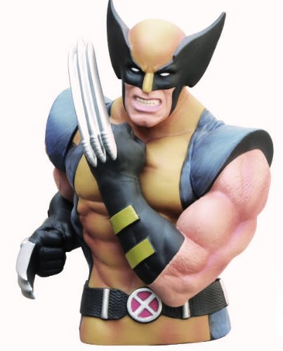 Marvel Büste Bank Wolverine Maskiert Action Figuren