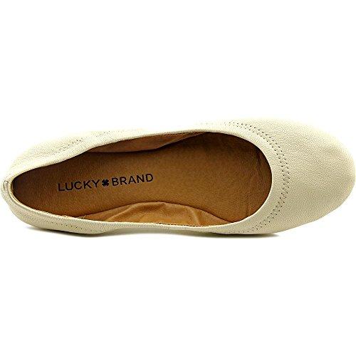 Lucky Brand LK-Emmie Cuir Ballerines Ines Burnish