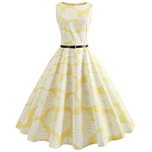 Flapper Dress with Short Sleeves Gatsby Party Women's Dress Style Girls Princess Fancy Dress Costume 1950er Vintage Polka Dots Pinup Retro Rockabilly Kleid Cocktailkleider -