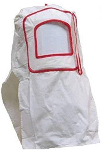 Express Maske (Sturmhaube Maske VISIERE weiß Schutz für Sandstrahlen)