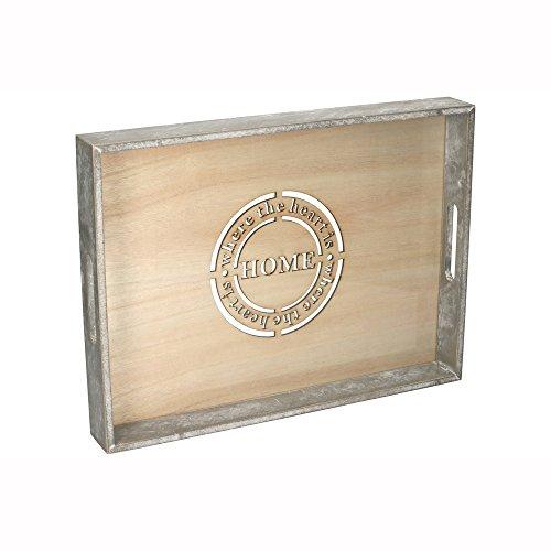 Bandeja de madera 40x 30cm Estilo Rústico Vintage   Cocina Bandej
