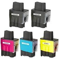 Prestige Cartridge LC900 / LC950 5 Cartucce d'Inchiostro Compatibile per
