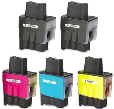 Prestige Cartridge LC900 / LC950 Lot de 5 Cartouches d'encre
