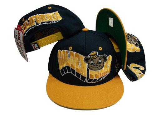 Zephyr California Cal Golden Bears Navy/Gelb Snap Back Hat Throwback Hat Cap