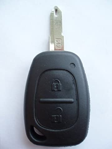 Remotefobcentre 390535600331 Replacement 2 Button Key Fob Case