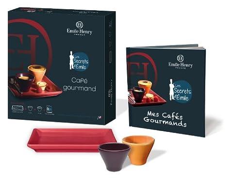 Emile Henry 6 Piece Les Secrets Cafe Gourmand Set