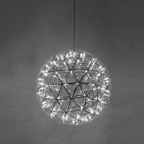 CUICAN Lampadario Circolare,Semplice Moderna Sferica Luce Creativa Lampade A Sospensione Singola Vendita Led Perle A Lume-A