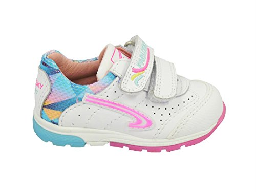 Pablosky, Scarpe outdoor multisport bambine bianco Size: 20