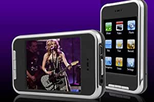 """MaryCom 8MusiX V20 MP3 MP4 Video Player 2.8"""" Touchscreen in schwarz + Mega Pack"""