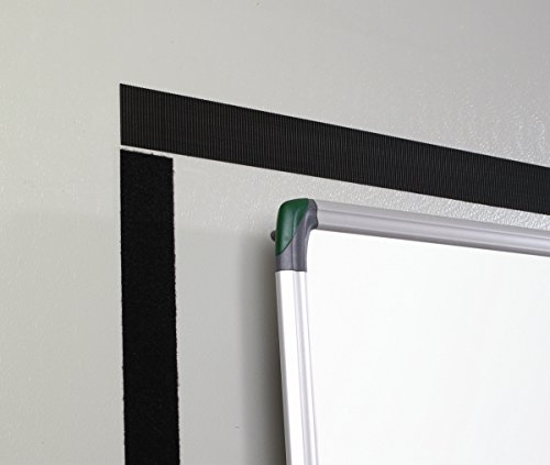 VELCRO - Heavy Duty Stick on Tape 50mm x 5 Meter weiß - Klettband zum Aufkleben Haft und Flauschteil EXTRA STARK(BxL) 50mm x 5 Meter weiβ
