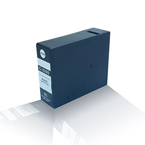 Preisvergleich Produktbild kompatible Tintenpatrone - Schwarz Black - für Canon Maxify iB4000 Series iB4050 MB5000 Series MB5050 MB5300 Series MB5350 PGI2500BKXL PGI-2500BK PGI-2500XL - Eco Office Serie