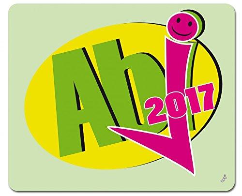 Preisvergleich Produktbild 1art1 104935 Schule - Abi 2017 Bestanden Mauspad 23 x 19 cm