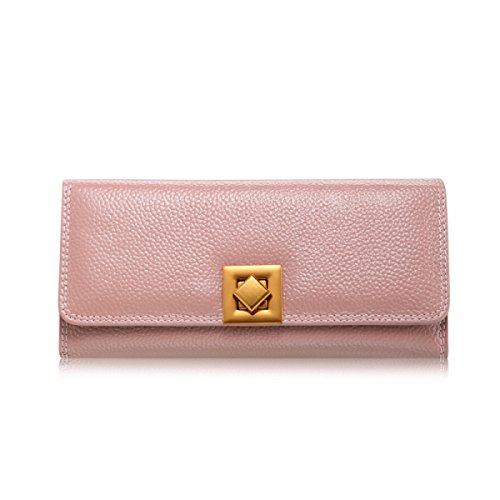 WU Zhi Lady In Pelle Frizione Borsa Pink