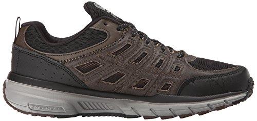 Skechers Geo-Trek Synthétique Chaussure de Randonnée marron/noir