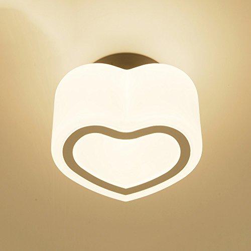 Pumpink Einfache und moderne Korridor-Deckenleuchte-Pendelleuchten Kreative Glasschirm-Klassenzimmer-Wandlampe Amerikanische Postmodern-geführte Gang-Deckenleuchte-Leuchter für Hall-Balkon-Portal Peach Leuchter