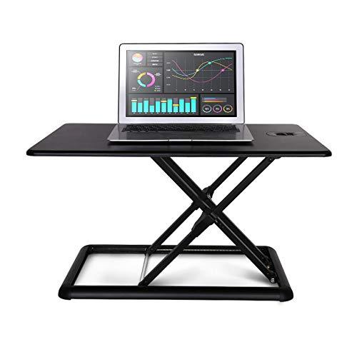 Young baby Office Lift Tisch Stand-up Schreibtisch Falten erhöhen Notebook Pad High Display...