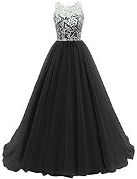 KekeHouse® Longue Robe de Soirée Bal Cérémonie Fille Enfant Femme Mariage