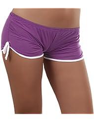 Damen GoGo Hotpants Hose Pants Panty Sport Freizeit Shorts Heiß
