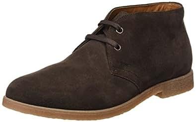 Geox U Dwain A, Desert Boots Homme, Marron (Chocolate), 41.5 EU
