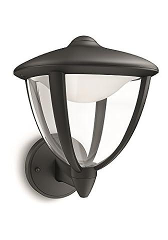 Philips luminaire extérieur LED applique montante Robin noir