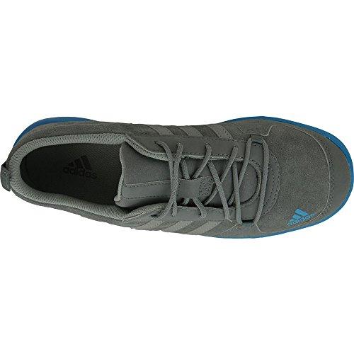 adidas Daroga Lea K, Chaussures de Sport Mixte Bébé Gris / bleu (onyx / gris / bleu impact)