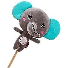 La muñeca de la historieta de la felpa espesa el golpe suave hacia atrás Regalo del palillo del masaje para el elefante