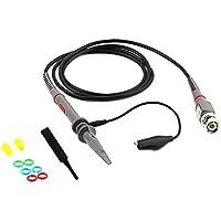 P6100 100 MHz Sonda de prueba de clip de osciloscopio Cables de prueba Analizador de alcance de alta precisión Alligator Clip Sonda para Tektronix HP