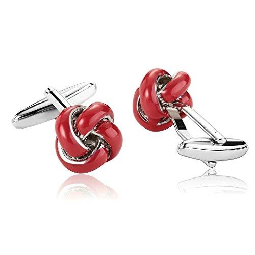 anazoz-joyeria-de-moda-1-par-gemelos-de-hombre-acero-inoxidable-forma-flor-color-rojo-gemelos-para-h
