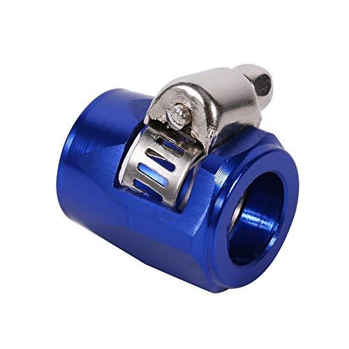 Schlauchenden, AN6 Schlauchenden Heizöl Wasserleitung Clip Clamp für Auto Auto(Blau) -